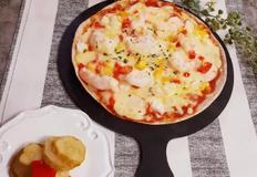 아이들 간식 또띠아 피자 만드는방법