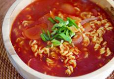 혼밥레시피 : 홍콩식 토마토 라면 / Tomato Ramen