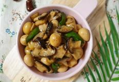 ♥[혼밥반찬] 메추리알 새송이버섯 장조림