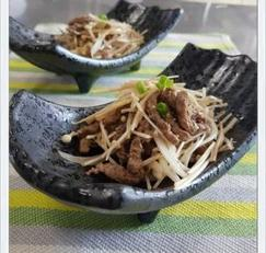 남은 추석음식활용법-쇠고기산적으로 샐러드를