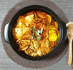 ♥[신혼밥상] 개운~얼큰 김치만두전골