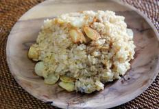 한 그릇 요리 : 버터 마늘 볶음밥 / butter garlic fried rice