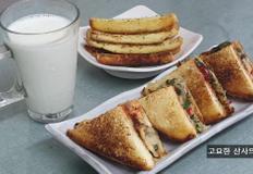 길거리 토스트와 식빵 자투리 버터구이