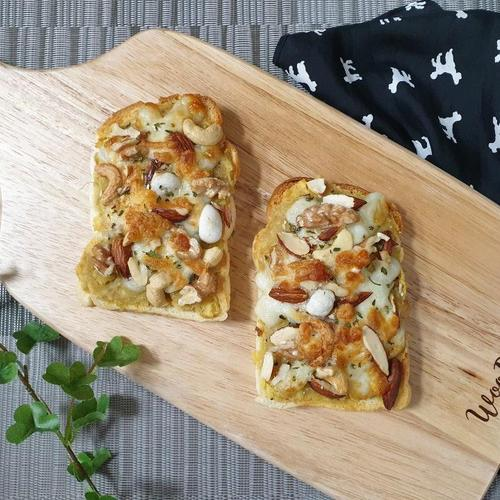 ♥[신혼밥상] 고구마 치즈토스트
