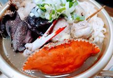 제철수산물+제철버섯 - 황금연휴 책임질 능이닭한마리칼국수