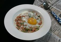 간단 한그릇밥 스팸 달걀덮밥~*