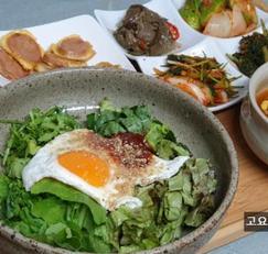 삼시세끼 산촌편, 생열무비빔밥과 얼큰콩나물국