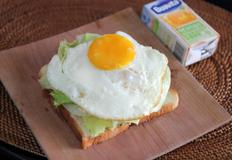 양상추 토스트 ( lettuce toast )