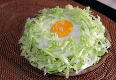 양상추 덮밥 ( lettuce rice bowl )