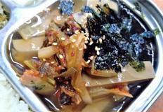 초간단 도토리묵사발 : 배불리 먹어도 좋은 가벼운 한그릇!