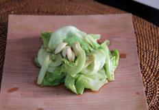 중국식 양상추 볶음 ( chinese style stir-fried lettuce )