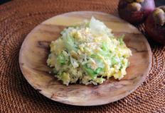 양상추 볶음밥 ( lettuce fried rice )