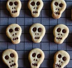 할로윈 해골 쿠키 만들기(+영상) 효썸