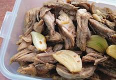 쫄깃한 돼지고기사태장조림 : 기본 밑반찬으로 최고!