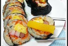 수미네반찬 박은혜 당근김밥 만들어 봤어요