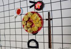 간편한 자취요리, 고소한 구운고기밥전