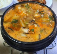 사골국으로 끓이는 간단하고 맛있는 사골된장찌개