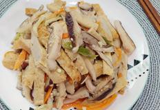 초스피드 밑반찬, 표고버섯 어묵볶음