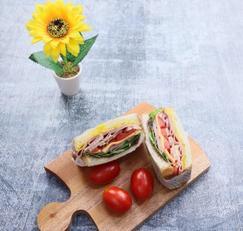 루꼴라샌드위치,에어프라이어요리,샌드위치만들기