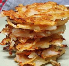 [구황작물 요리] 감자 양배추 전 쫀득하고 바삭한 별미