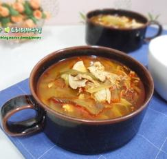 면역력에 좋은 가을보양식 닭개장