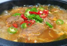장터 국밥 / 소고기국밥으로 환절기 면역력에 좋은 국밥