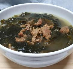 면역력에 좋은 [소고기 미역국] 고기 핏물 깔끔하게 빼는 법
