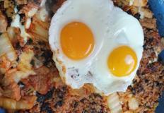 강식당 치즈김치볶음밥 만들기!