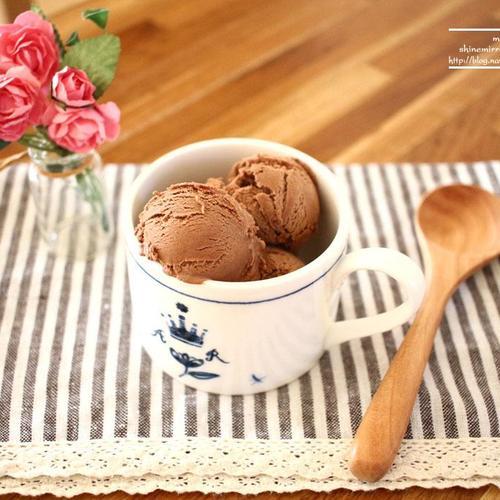 초코 아이스크림