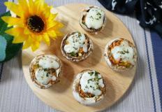♥[면역력 밥상] 양송이 야채 치즈구이