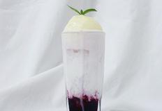 전자렌지로 만드는 초간단 블루베리 시럽을 넣은 '블루베리 크림소다' 만들기 쉬운 홈카페 레시피
