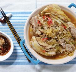 ♥[신혼밥상] 돼지고기 배추찜