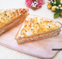간단 식빵요리 크로크무슈