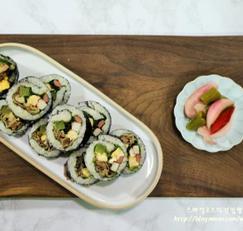 김밥 고소한 차돌박이 김밥