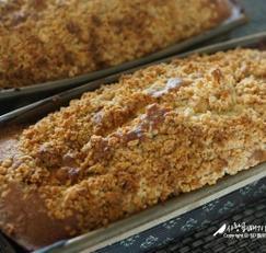 [사과레시피] 사과 크럼블 파운드케이크 만들기