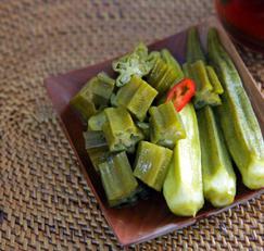 레이디핑거 : 오크라 장아찌 / Okra Pickle