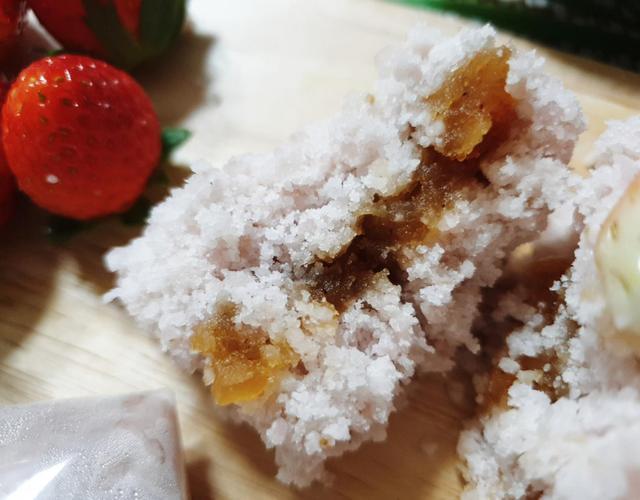 딸기백설기