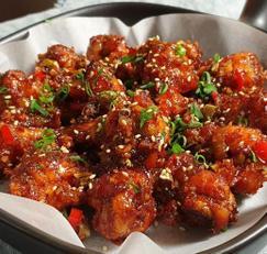 겨울간식 닭봉구이 매콤한 갈비맛 에어프라이어 요리