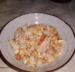 참지 볶음 주먹밥