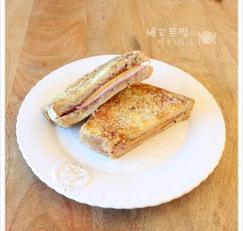 뜨끈한 토스트~ 햄치즈프렌치토스트, 프렌치토스트