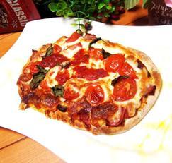 #오븐요리 #피자 #마르게리따피자만들기 #고르곤졸라치즈도 들어간 마르게리따피자!! 생토마토,치츠듬뿍