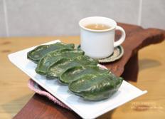설날음식, 생모싯잎송편 찌는 방법
