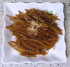 우엉조림 아삭아삭 영양 밑반찬