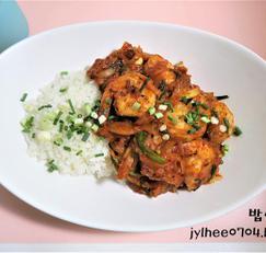 최고의 요리비결 칠리새우덮밥