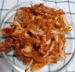 알배기배추겉절이 쉬운 요리