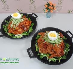설날음식/문어 비빔국수