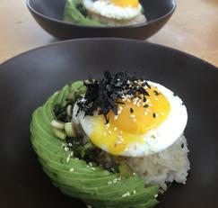 정월대보름]영양식,10분이면 뚝딱! 아보카도 덮밥