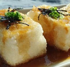 두부요리(아게다시도후) 연두부 튀김 만드는 법 일식 요리