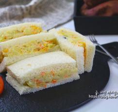 감자샐러드 샌드위치 만드는 법 에어프라이어 간식 동영상