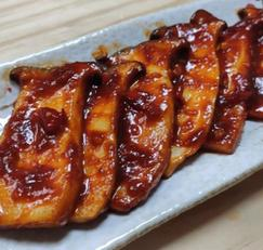 새송이버섯 매콤양념구이 / Roasted King Oyster Mushroom and red chilli paste